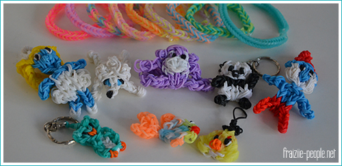 La folie Rainbow Loom
