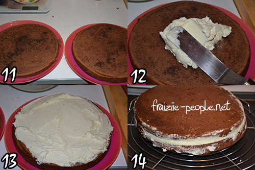 Nutella's Cake - photo set 3