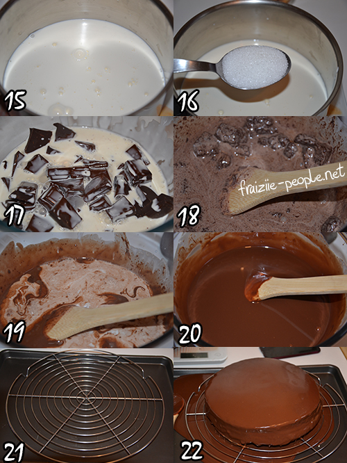 Nutella's Cake - photo set 4