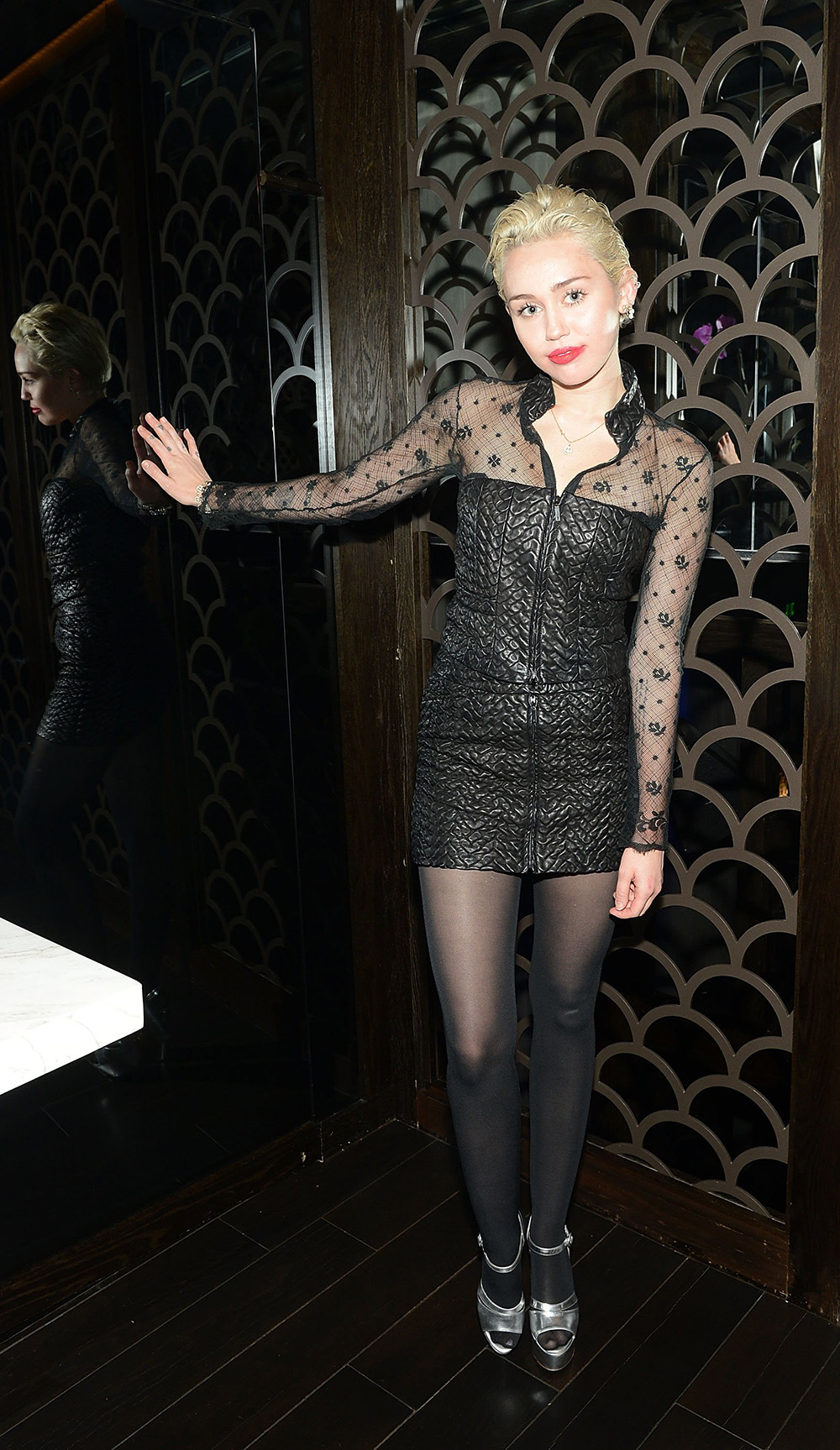 Miley Cyrus au Caesars Palace de Las Vegas
