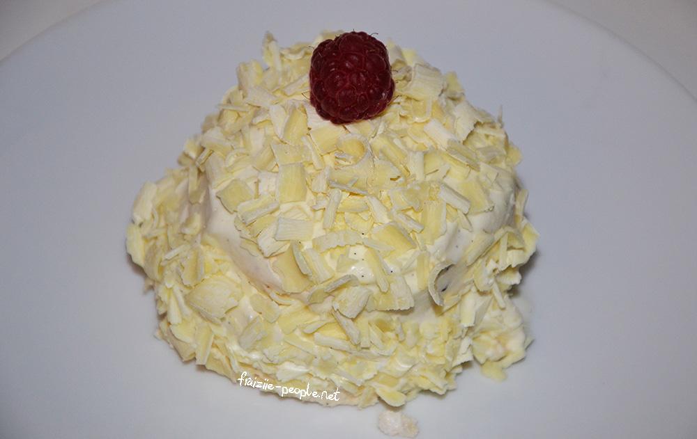 Merveilleux Chocolat Blanc