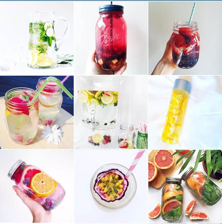 Detox Water Instagram