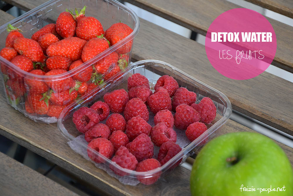 Detox Water : les fruits