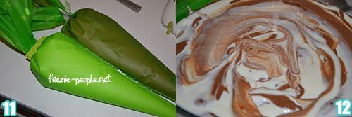 Etape 3 Mousse aux deux chocolats