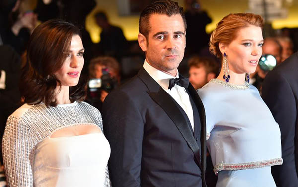 Rachel Weisz, Colin Farrell et Lea Seydoux.