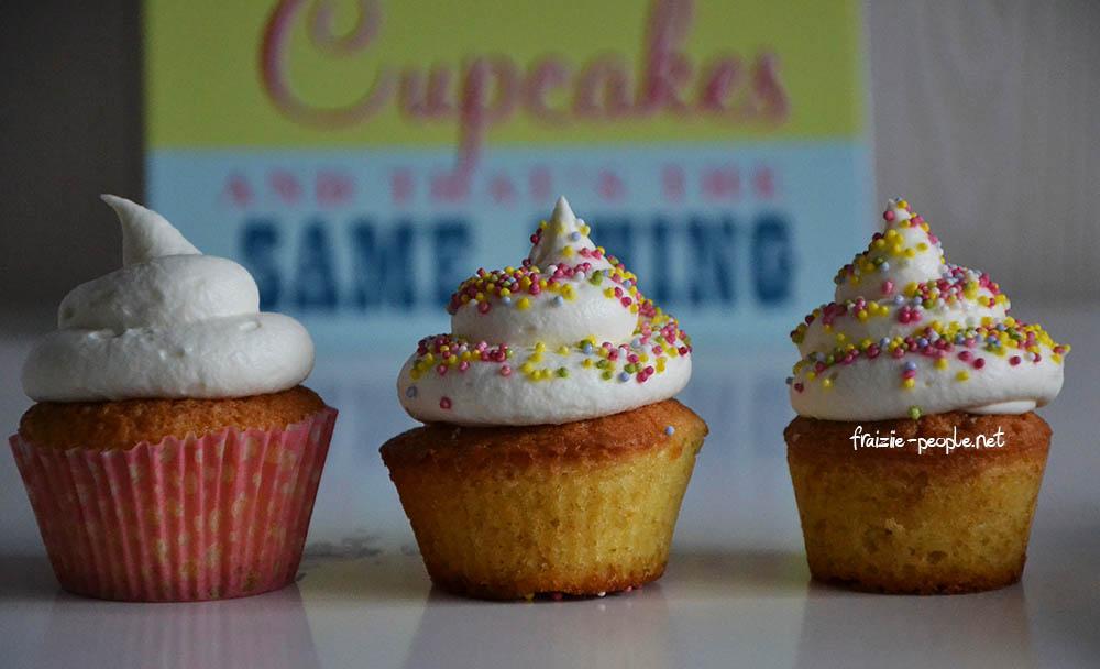 Cupcakes mascarpone et cœur de framboise