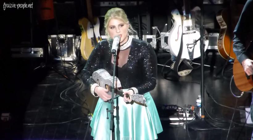 Meghan Trainor en concert à Paris