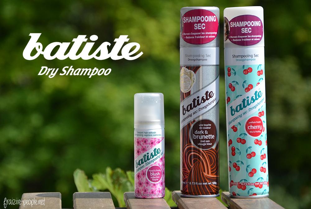 Batiste Shampoings secs