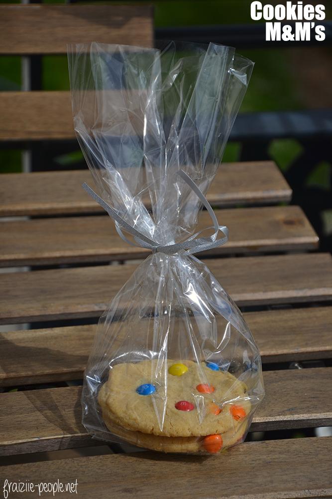 Cookies M&M's sachet