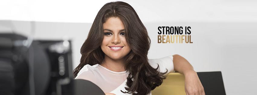 Selena Gomez égérie Pantene