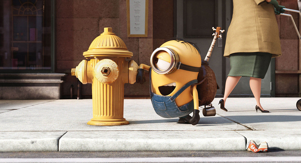 Les Minions à New York