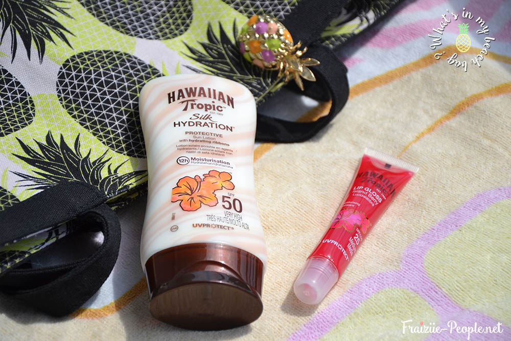 Wha'ts in my beach bag ? Crème solaire