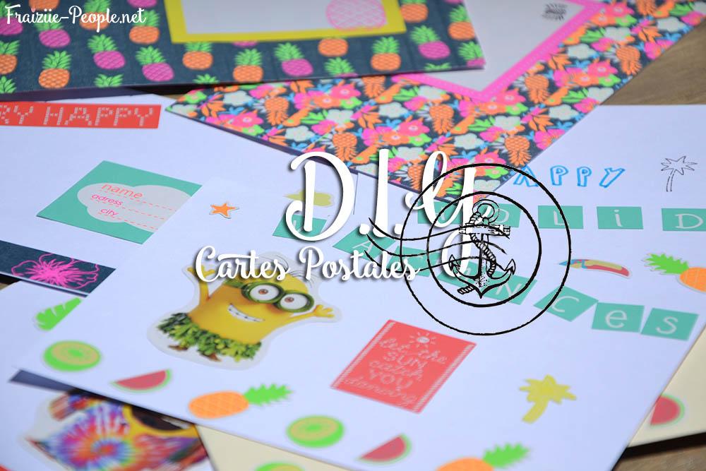 D.I.Y cartes postales