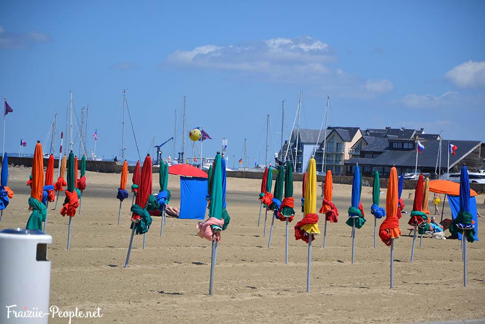 Une journée à la plage Deauville 2