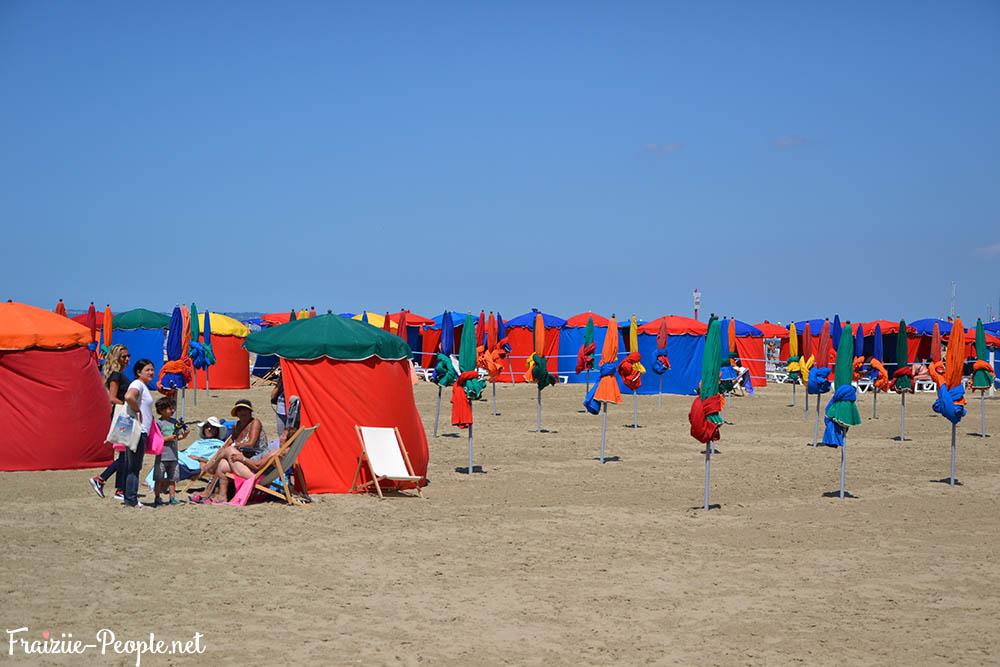 Une journée à la plage Deauville 5