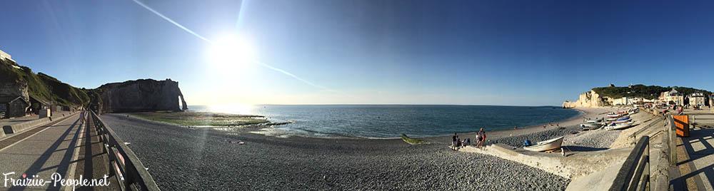 Une journée à la plage Etretat 4