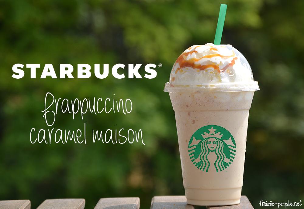 Frappuccino caramel maison 2