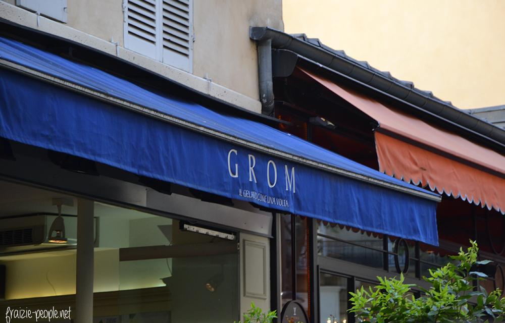 GROM, la meilleure glace de Paris ?
