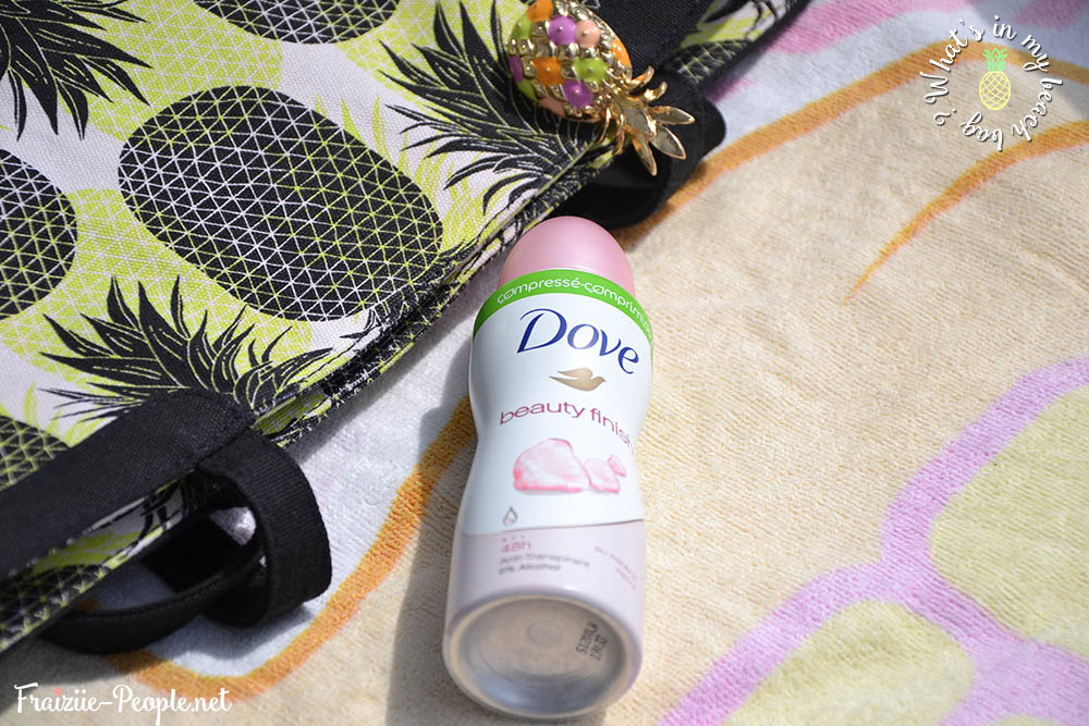 What's in my beach bag ? Mini déo