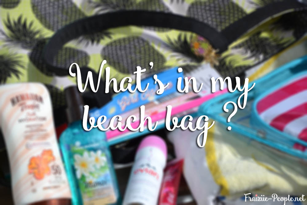 What's in my beach bag bis
