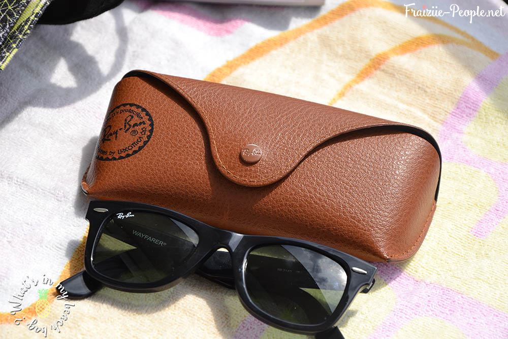 What's in my beach bag ? lunettes de soleil