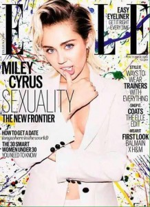 Miley Cyrus ELLE UK