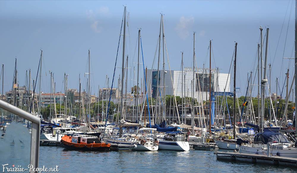 Se balader à Barcelone, le front de mer