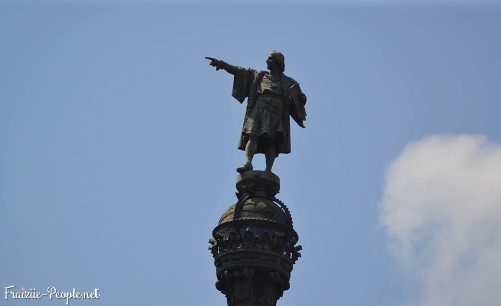 Se balader à Barcelone,, Christophe Colomb