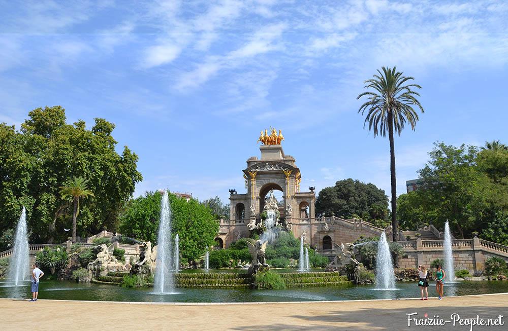 Se balader à Barcelone, le parc de la ciutadella