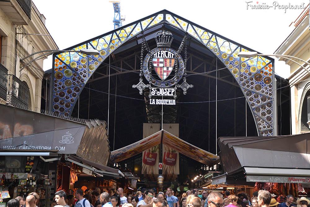 Se balader à Barcelone, le marché de la boqueria