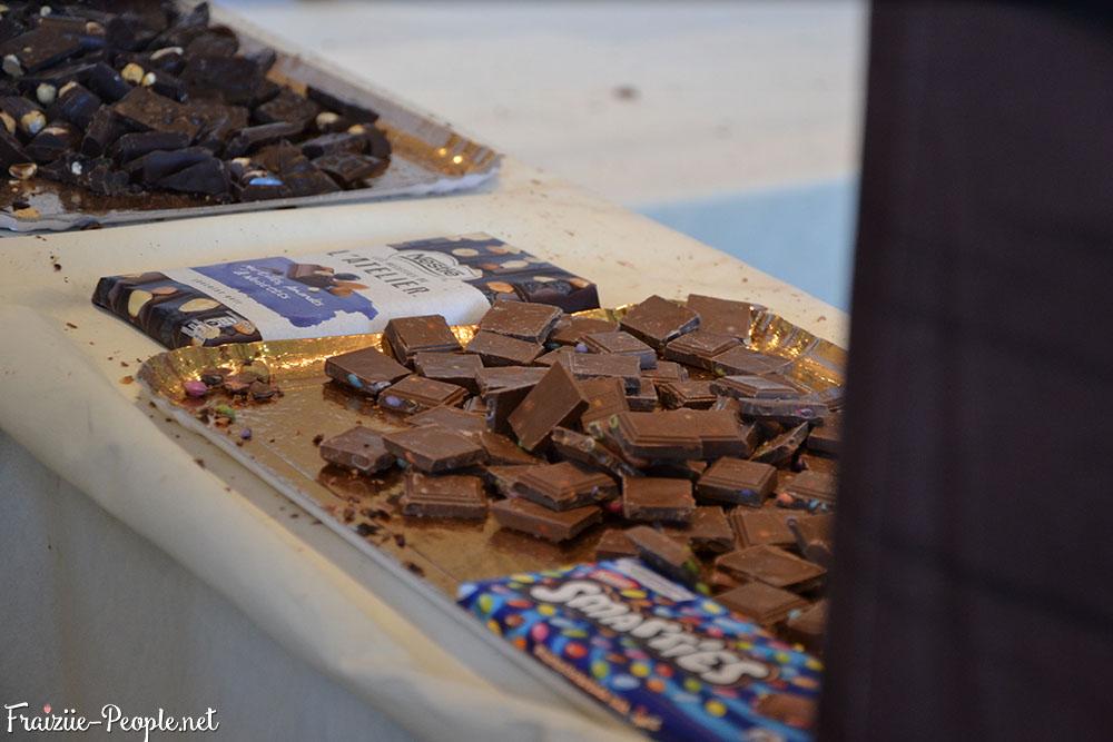 Dégustation de chocolats dans La Cathédrale
