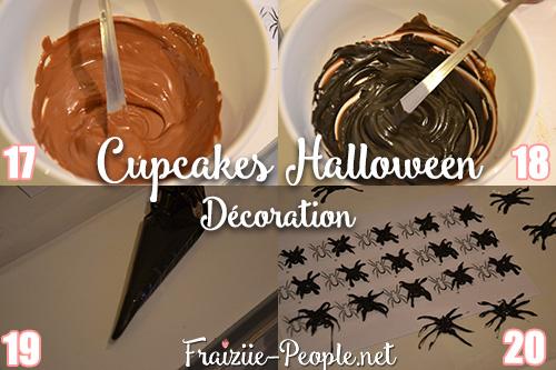 Etape 3 Cupcakes Halloween