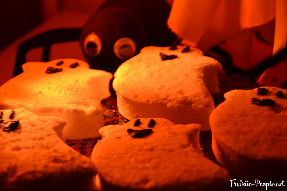 Fantômes en guimauve pour Halloween 2