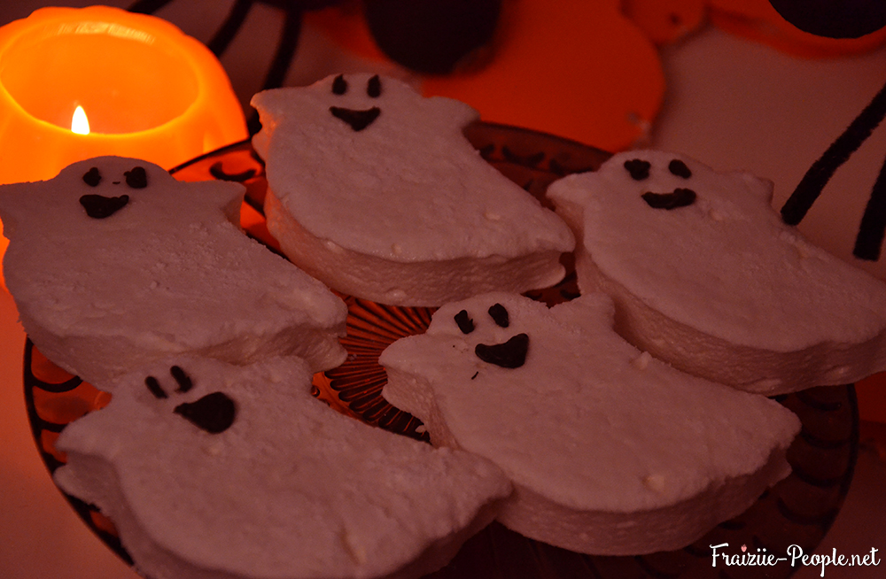 Fantômes en guimauve pour Halloween 5