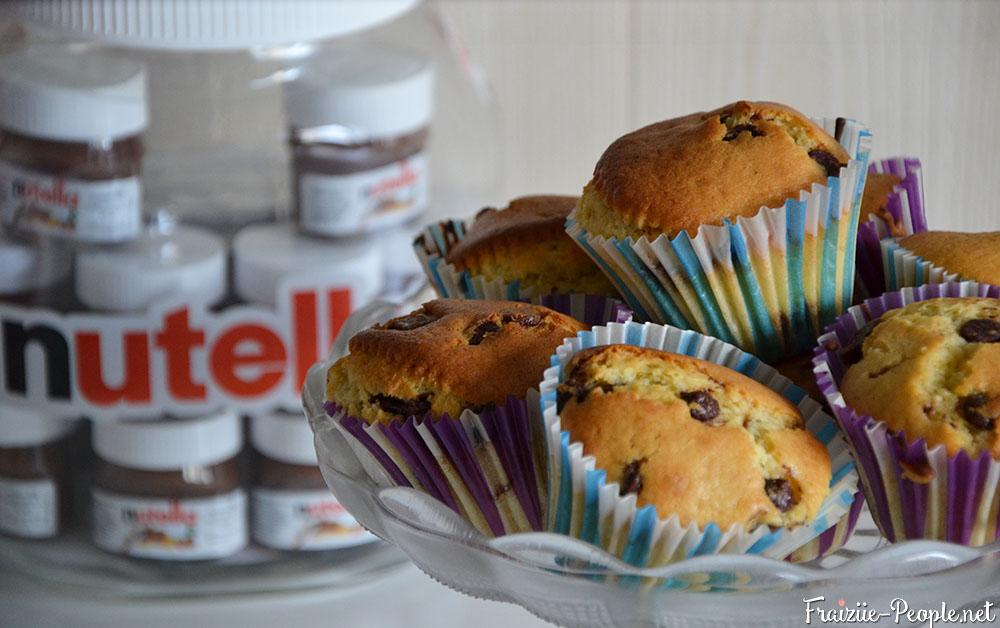 [Recette] Muffins coeur Nutella et pépites de chocolat au lait
