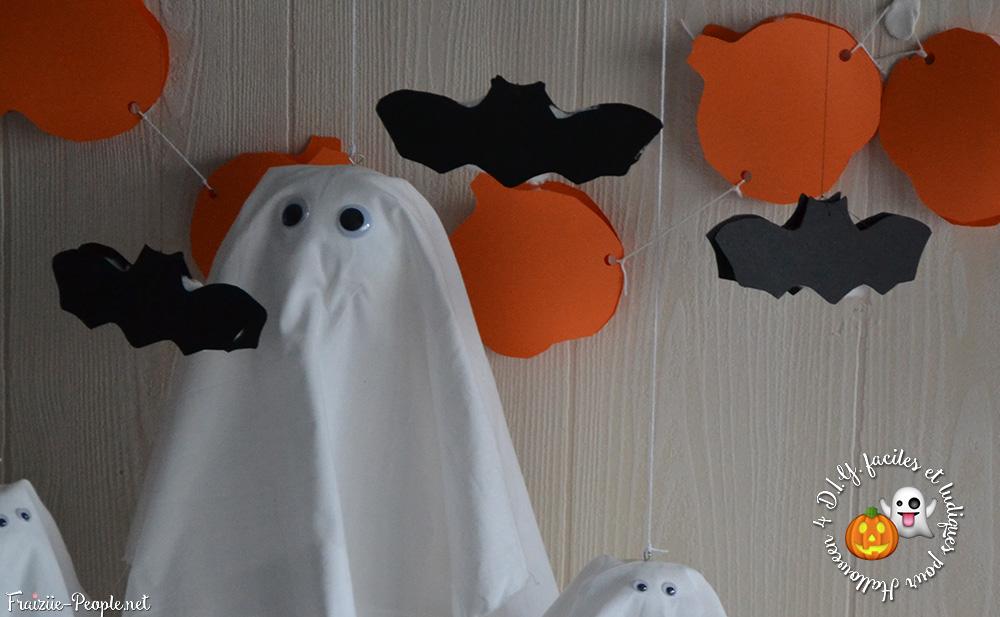 Quatre idées déco faciles et ludiques pour Halloween chauve-souris