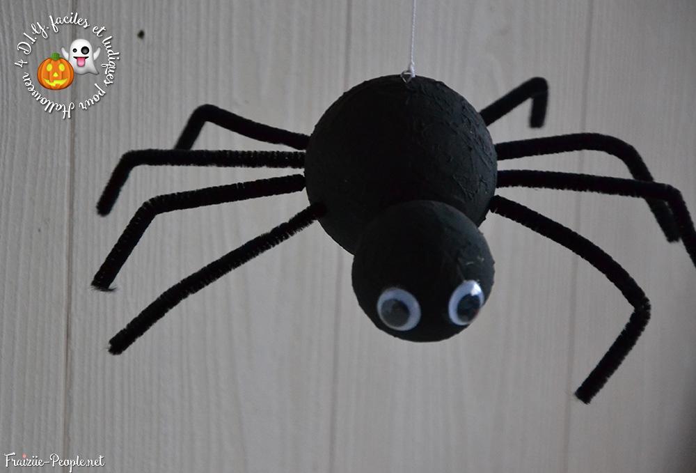 les araignées, Quatre idées déco faciles et ludiques pour Halloween
