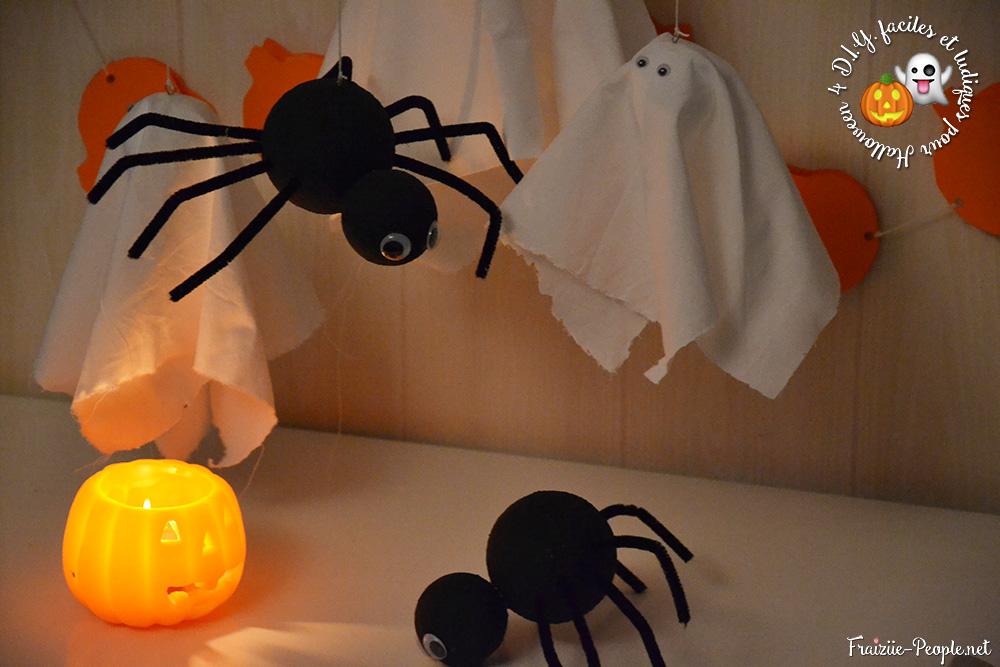 quatre idées déco pour halloween