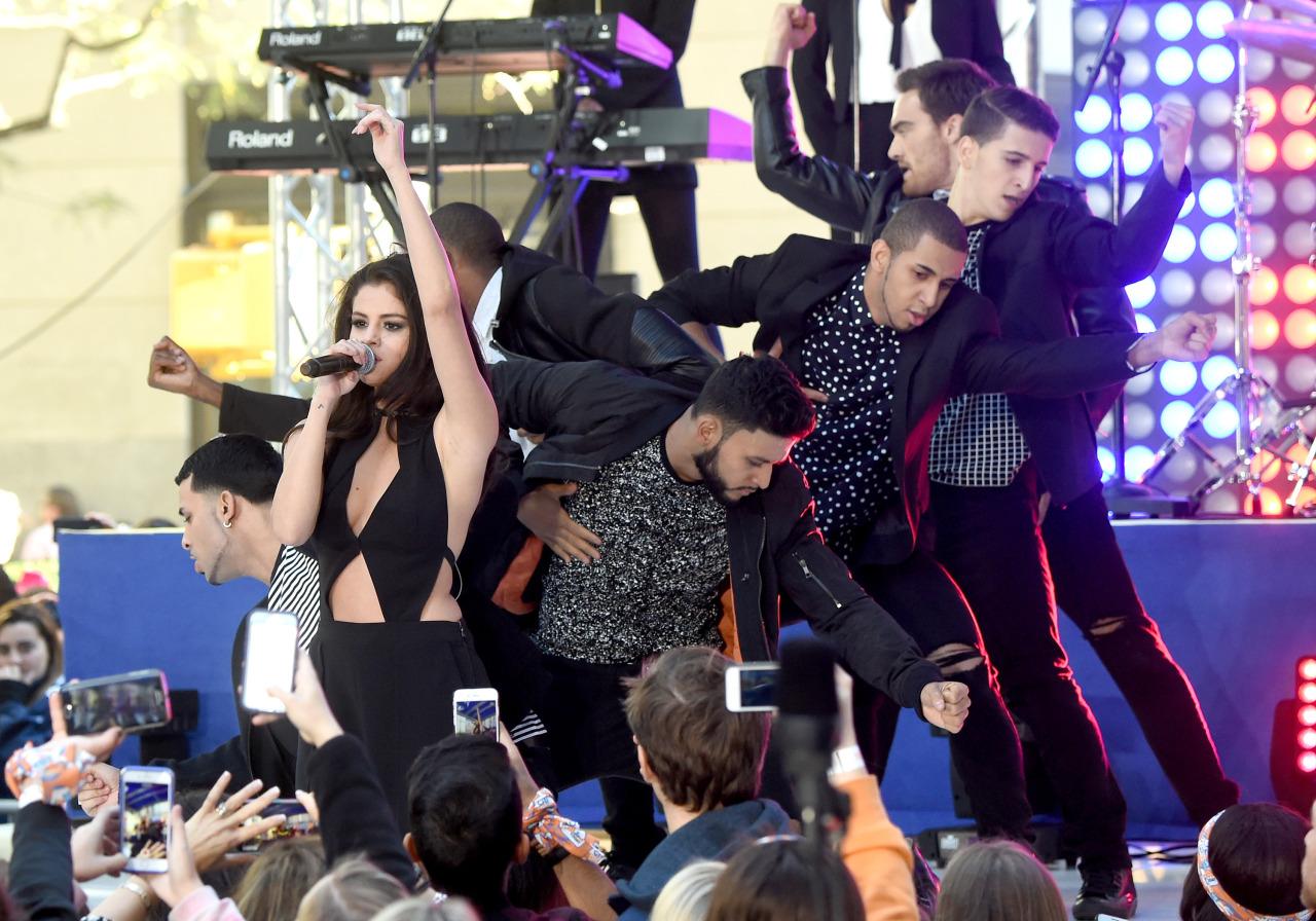Selena Gomez sur la scène du Today Show à NY