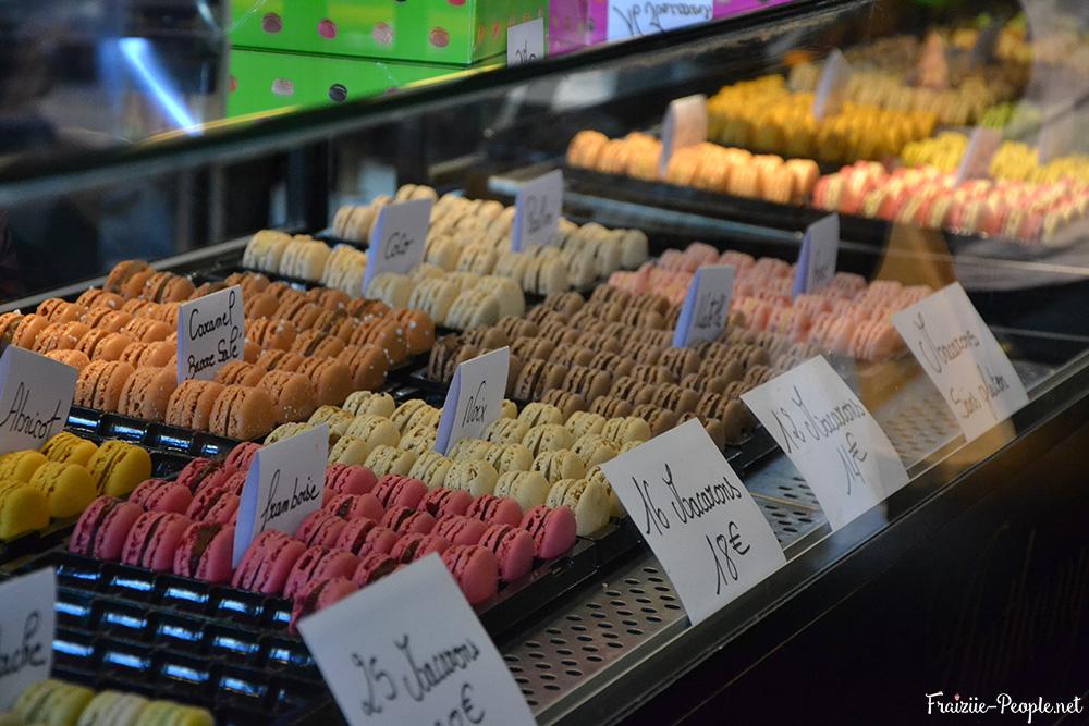 Le salon du chocolat propose également pleins de pâtisseries délicieuses