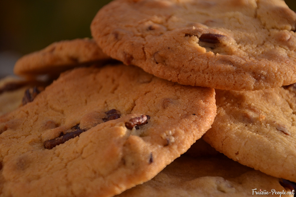 cookies caramel et noix de pécan