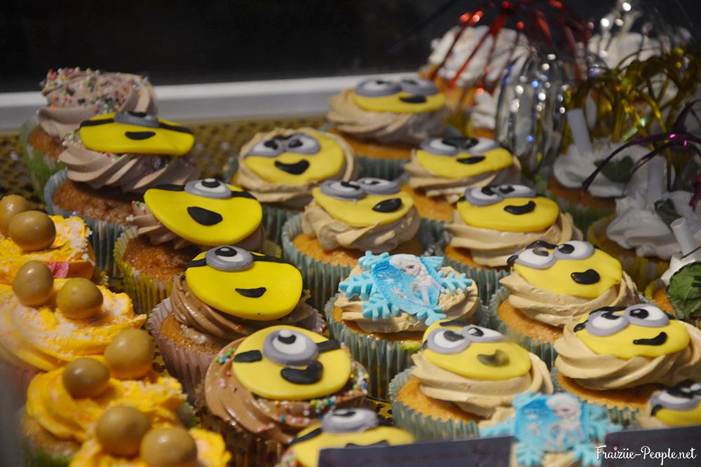 Je vous laisse deviner pourquoi j'ai pris ces cupcakes en photo