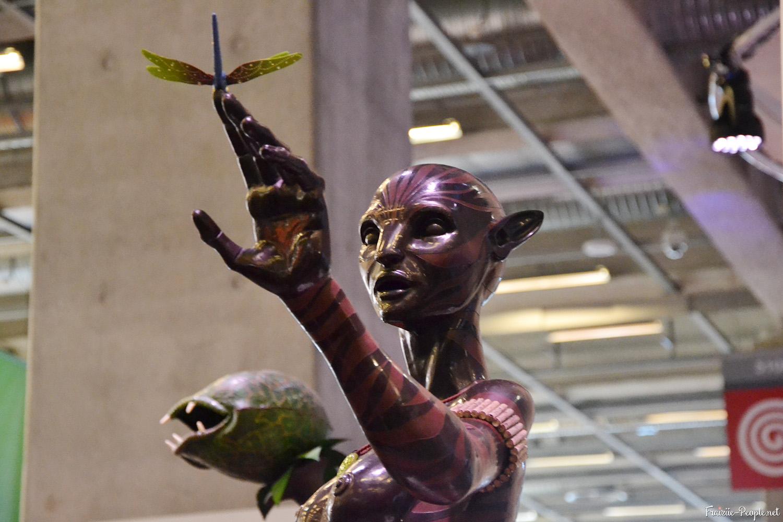 Sculpture du gagnant du concours