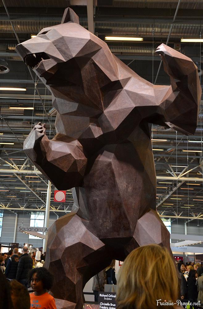 Ours en chocolat géant !