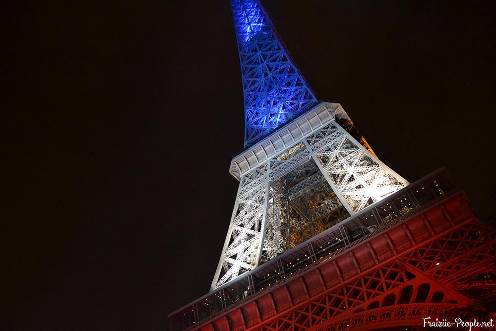 Balade parisienne tricolore tour eiffel 2