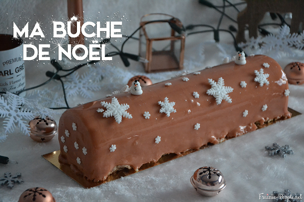 ma bûche de Noël chocolat c