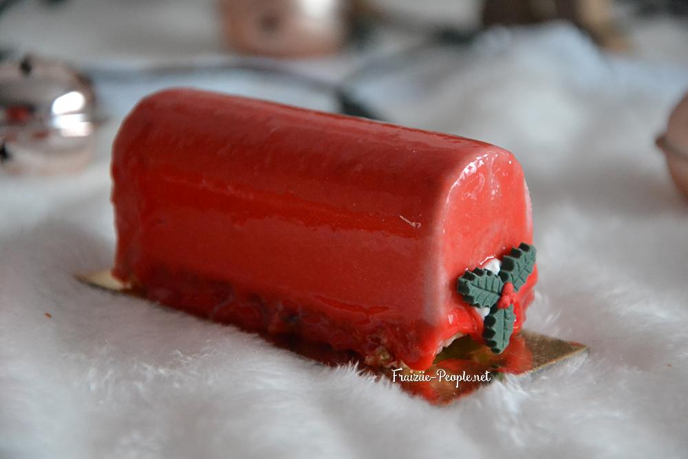 mini bûches fraise
