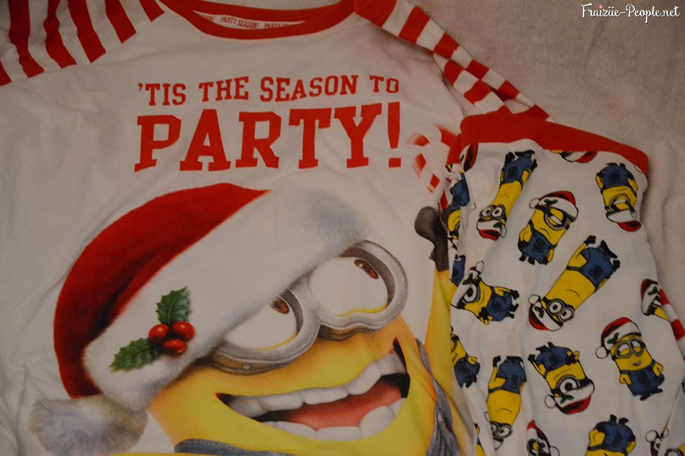 Haul Noël mode pyjamas