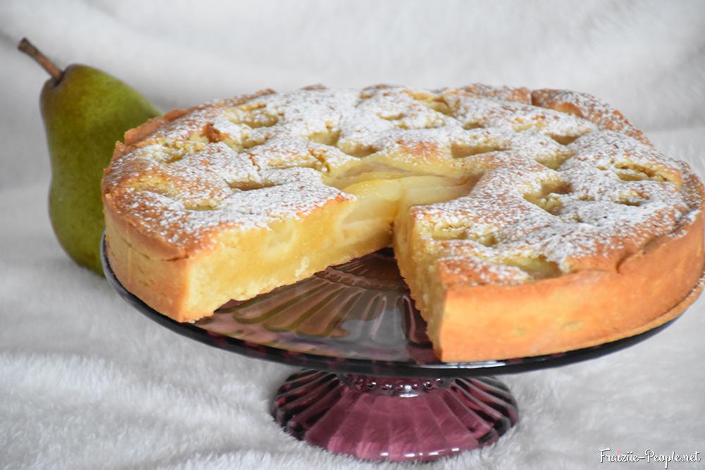 SI la tarte est suffisamment cuite, mais pas trop, la coupe devrait être nette !