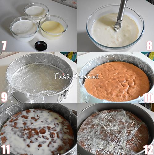 Etape 2 : Pastel 3 leches